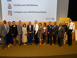 Moffitt Healthy KIDZ Role Model Scholarship Award presenters