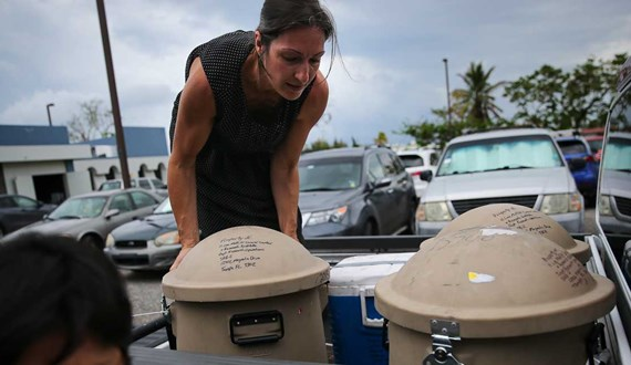 Six Months after Hurricane Maria Moffitt is Oasis in the Storm