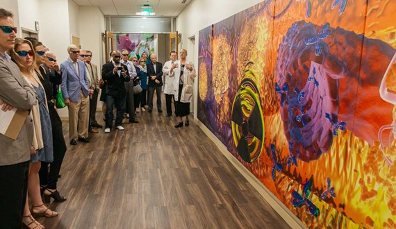 Moffitt Clinic Brings Treatment to Life with 3D Art