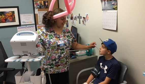 Moffitts Pediatric Melanoma Clinic Day Gives Young Patients a Chance to Connect