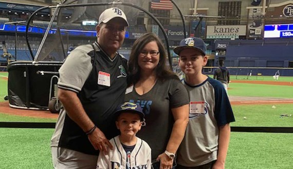 Faith Family Baseball Motivate Cancer Patient