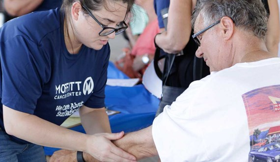 Moffitt Sets Records at Annual Pier 60 Cancer Screening Event