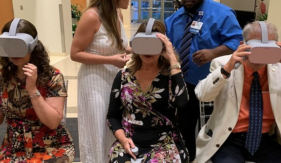 Bringing Virtual Reality to Cancer Patients