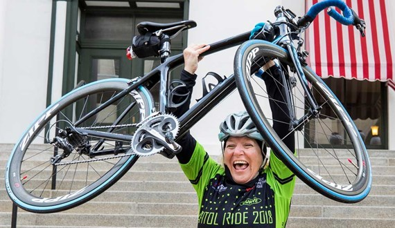 Why I Ride Moffitt Nurse Bikes Towards a Cure