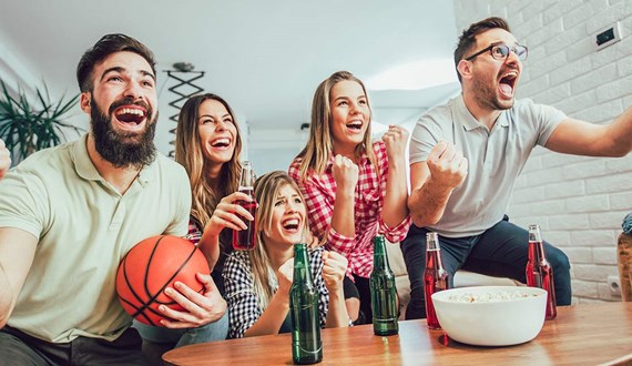 Five Health Tips to Win March Madness
