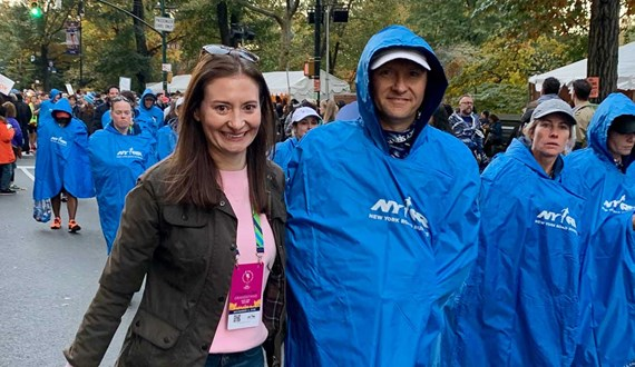 Cancer Patient Completes Dream of Running in New York City Marathon