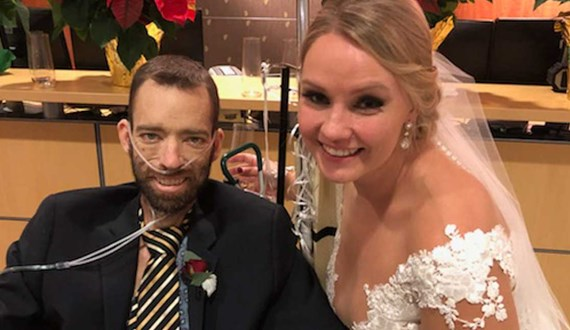 Wedding Bells Ring at Moffitt