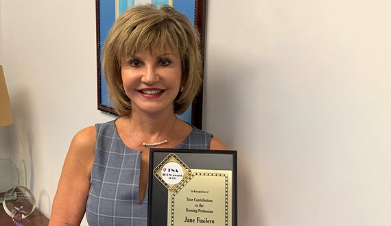 Moffitts Chief Nursing Officer Receives Top Honor