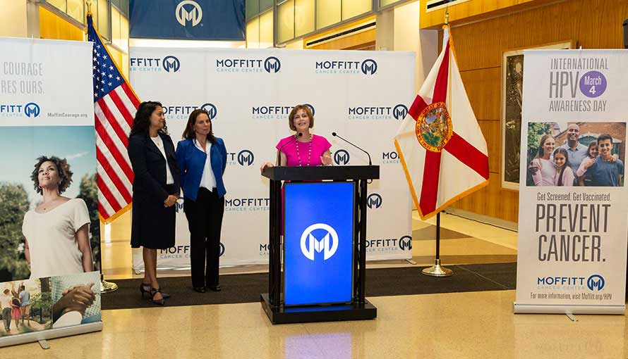 HPV Press Conference at Moffitt