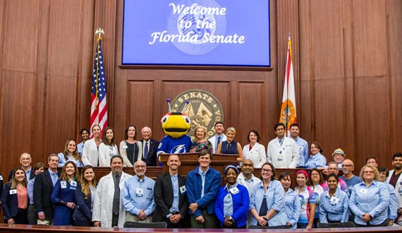 Moffitt Advocates Travel to Tallahassee