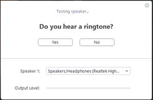 Hear Ringtone Zoom