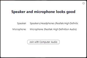 Speaker Microphone Good Zoom