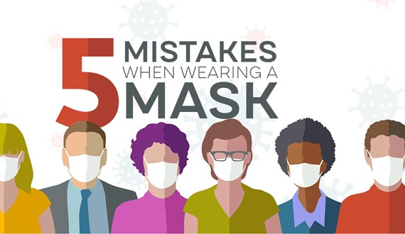 5 Mistakes You May Be Making When Wearing Face Masks
