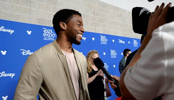 Passing of Chadwick Boseman Strikes Young Colon Cancer Patient
