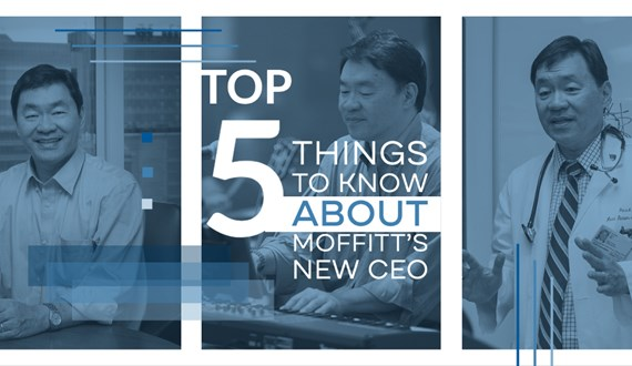 5 Things You Need to Know About Moffitts New CEO