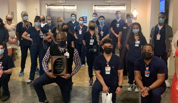 Moffitt Patients Honor Dedicated Team Members