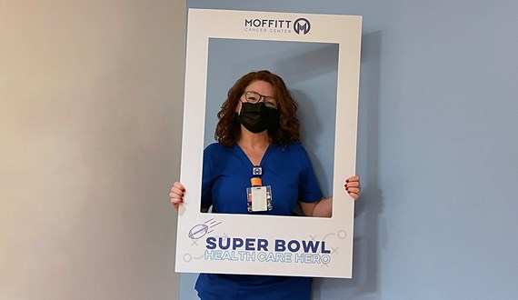 Moffitt Nurse Surprised with Super Bowl Tickets