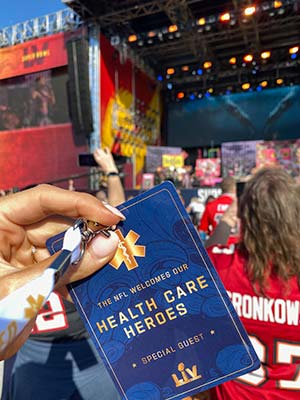 Health Care Hero credential