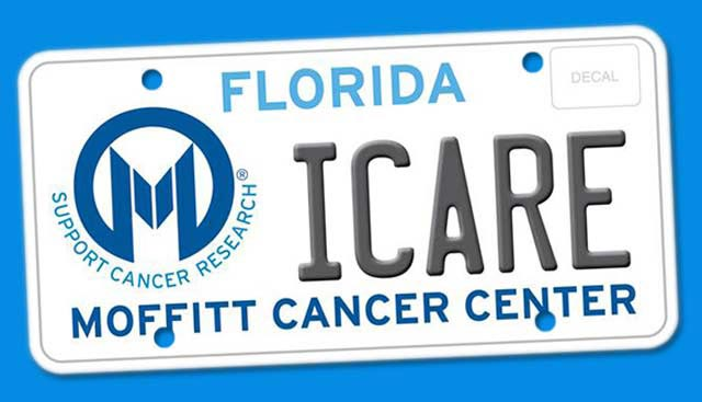 Moffitt License Plate