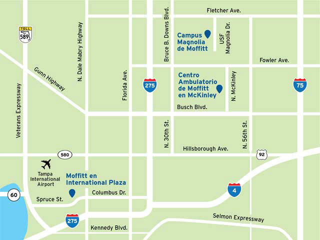 McKinley Outpatient Center map