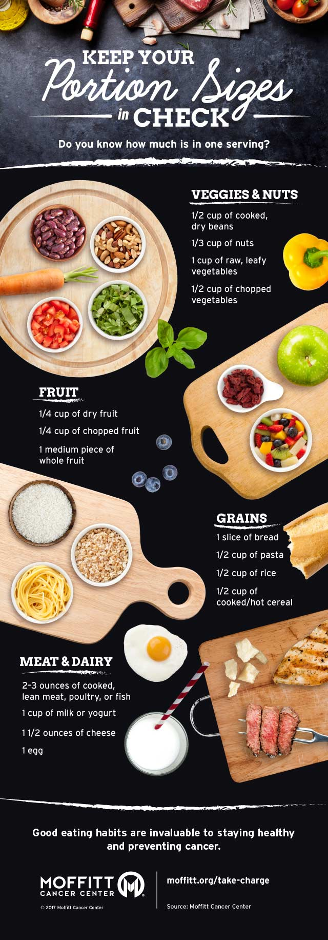 Infographic: Keep Your Healthy Portion Sizes in Check