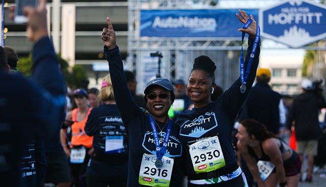 Miles for Moffitt runners