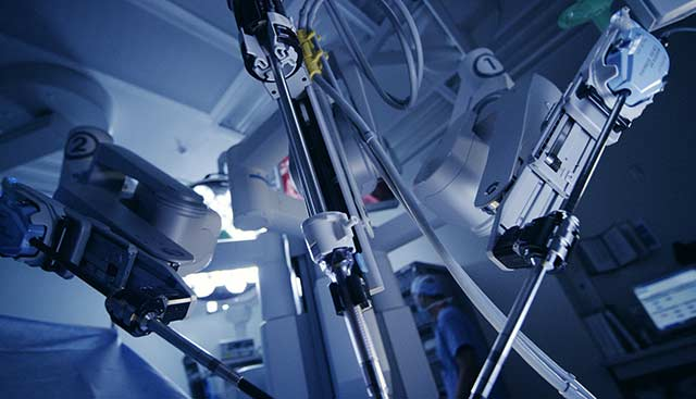 Davinci equipment for robotic surgery