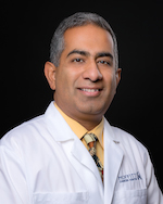 Dr. Nikhil I. Khushalani, Vice Chair of the Department of Cutaneous Oncology