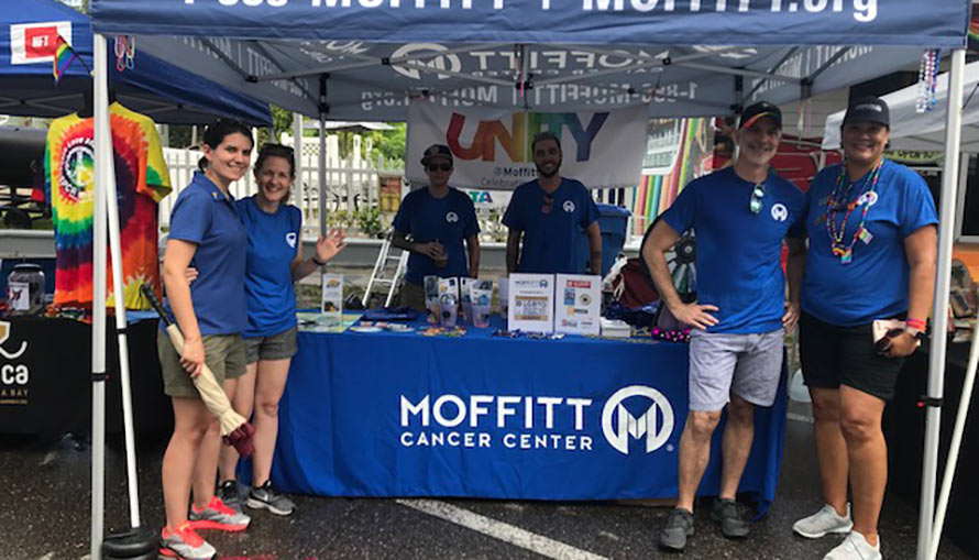Moffitt Unity at St. Pete Pride