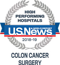 USNWR Colon Surgery High Performing