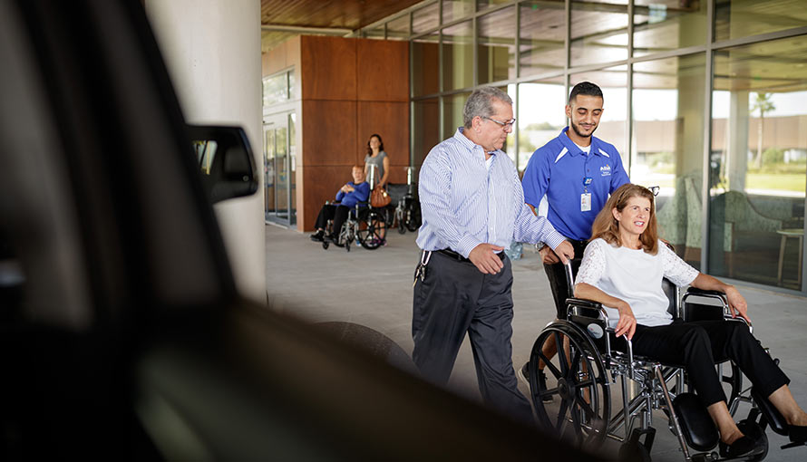 Moffitt provides special assistance