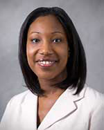 Jhanelle Gray, MD, Physician Scientist in the Department of Thoracic Oncology